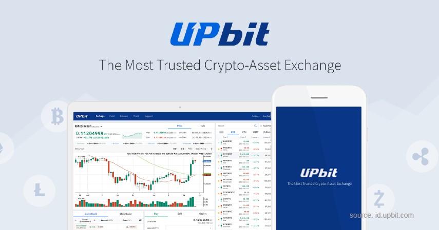 Upbit - Daftar Broker Bitcoin Berizin Bappebti