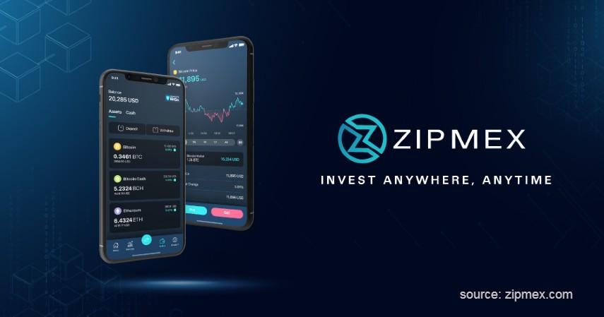 Zipmex - Daftar Broker Bitcoin Berizin Bappebti