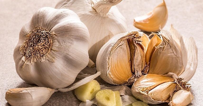 bawang putih - Cara Meningkatkan Daya Tahan Tubuh Alami