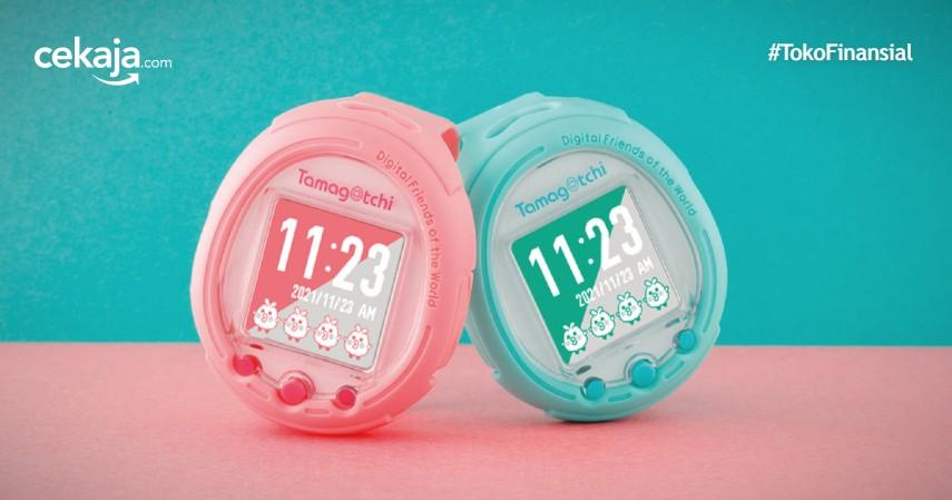 Tamagotchi Smart, Smartwatch Berbentuk Tamagotchi yang Bakal Rilis November 2021