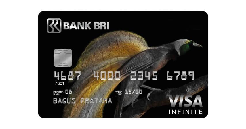 BRI Infinite - 8 Produk Kartu Kredit Bank BRI Terbaik