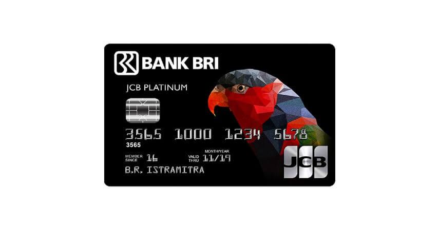 BRI JCB Platinum - 8 Produk Kartu Kredit Bank BRI Terbaik