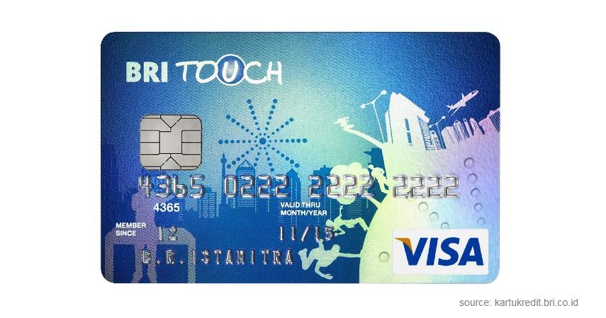 BRI Touch - Syarat Mengajukan Kartu Kredit BRI Touch