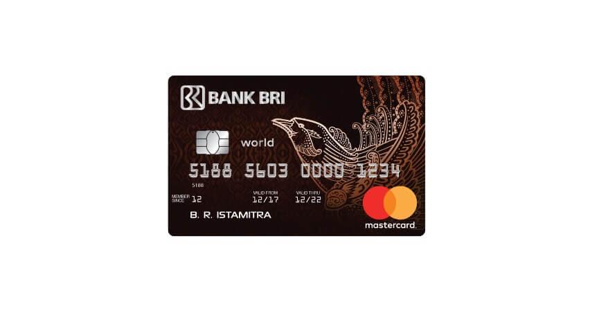 BRI World Access - 8 Produk Kartu Kredit Bank BRI Terbaik