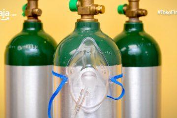 Daftar Penyedia Tabung Oksigen di Jabodetabek dan Kota-Kota Lainnya