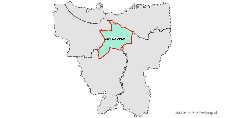 Jakarta Pusat - Kota Terbersih di Indonesia