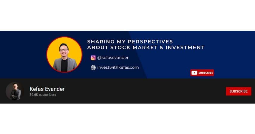 Kefas Evander - 8 Rekomendasi Channel YouTube Tentang Investasi untuk Pemula