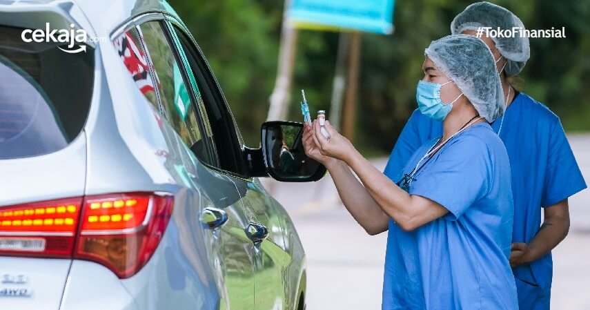 Mengenal Layanan Vaksin Drive Thru Beserta Lokasi dan Mekanismenya