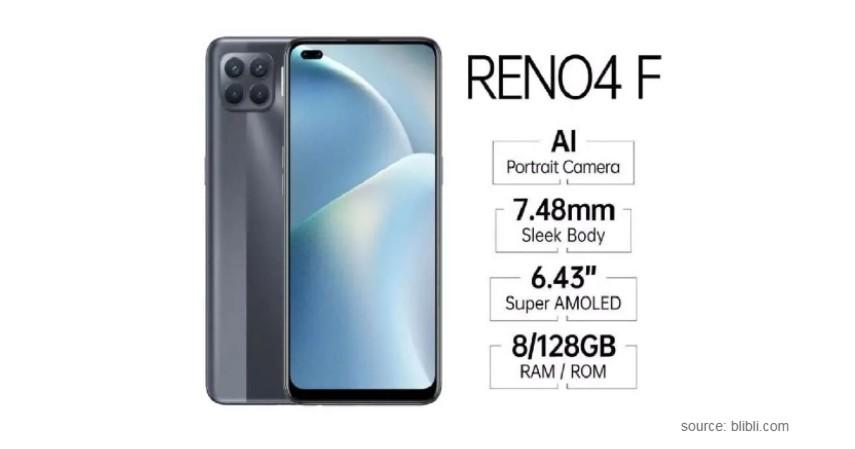 OPPO Reno 4F Smartphone Paling Laris di Indonesia 2021
