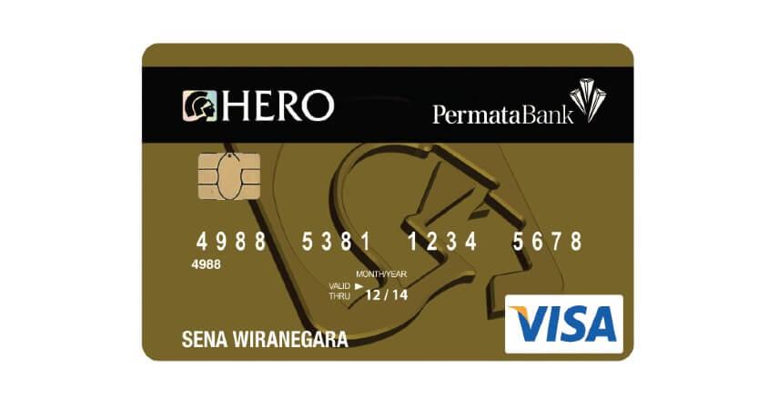 Permata Hero Gold - 5 Kartu Kredit untuk Usia 17 Tahun