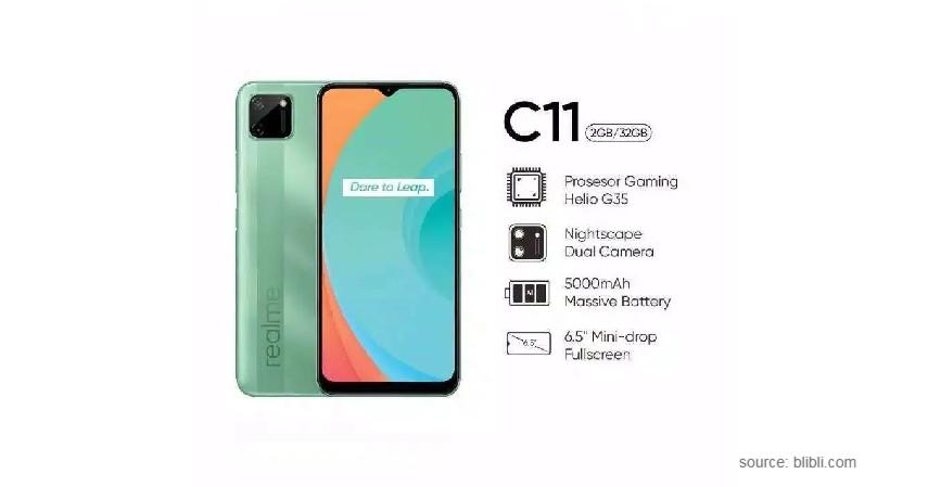 Realme C11 - Smartphone Paling Laris di Indonesia 2021