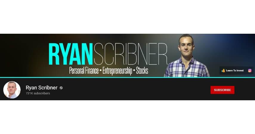 Ryan Scribner - 8 Rekomendasi Channel YouTube Tentang Investasi untuk Pemula