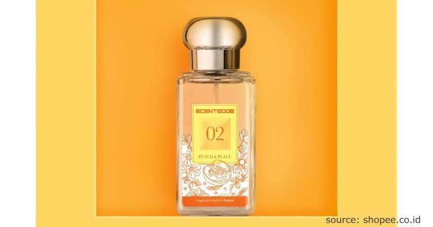 Scentcode Peach and Peach - 7 Rekomendasi Parfum Lokal Tahan Lama Cocok untuk Hadiah
