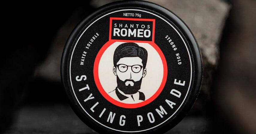 Shantos Romeo Pomade Water Based - 8 Rekomendasi Pomade Lokal Terbaik 2021