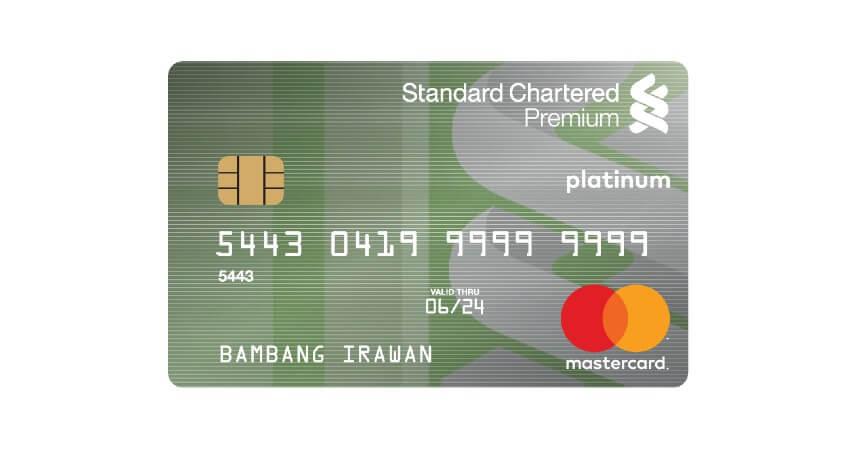 Standard Chartered MasterCard Premium - 5 Kartu Kredit untuk Usia 17 Tahun