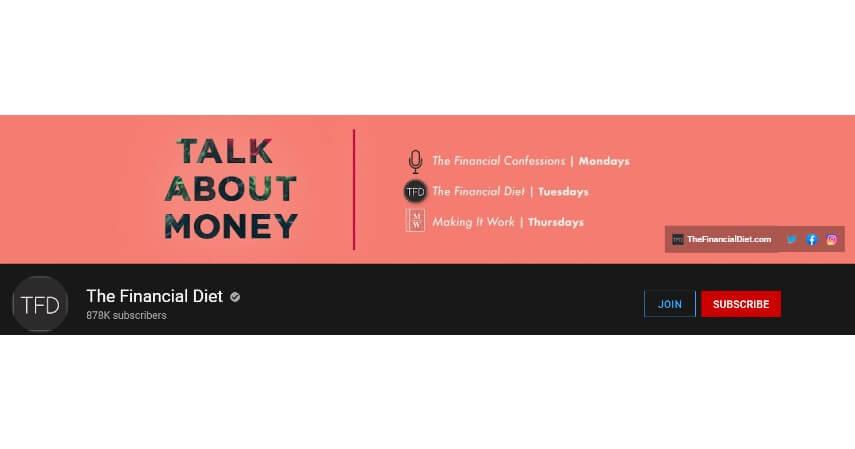 The Financial Diet - 8 Rekomendasi Channel YouTube Tentang Investasi untuk Pemula