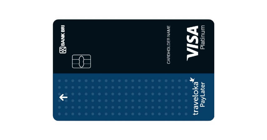 Traveloka Paylater Card - 8 Produk Kartu Kredit Bank BRI Terbaik