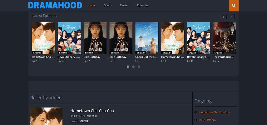 Dramahood - 10 Situs Nonton Drama Korea Sub Indo Gratis dan legal 2021