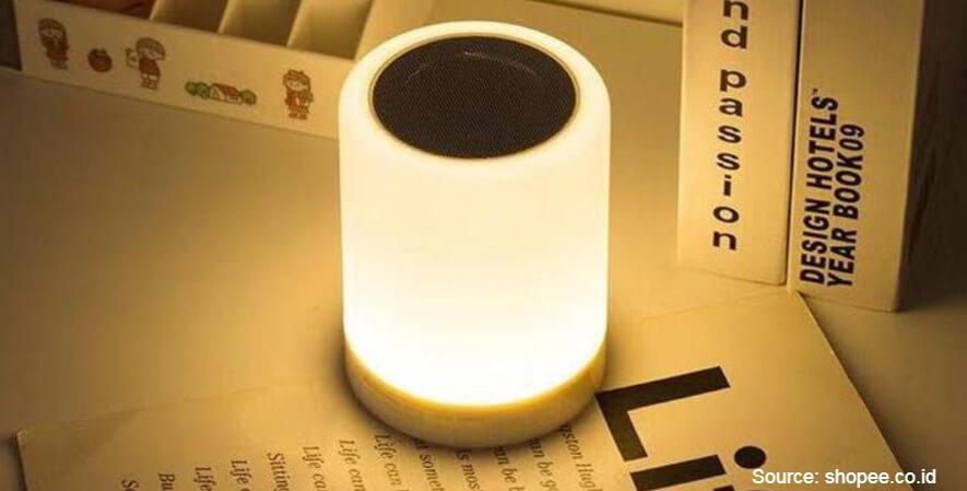 Jovitech Speaker Bluetooth Lampu Tidur LED - 10 Rekomendasi Lampu Tidur Terbaik Desain Unik Harga Terjangkau