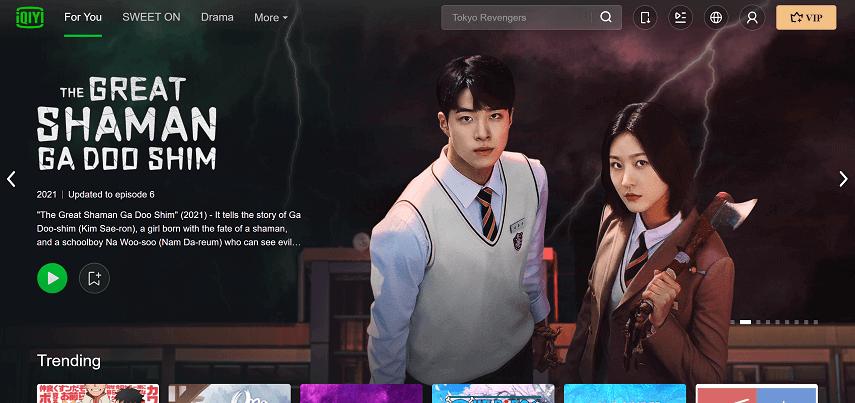 iQIYI - 10 Situs Nonton Drama Korea Sub Indo Gratis dan legal 2021