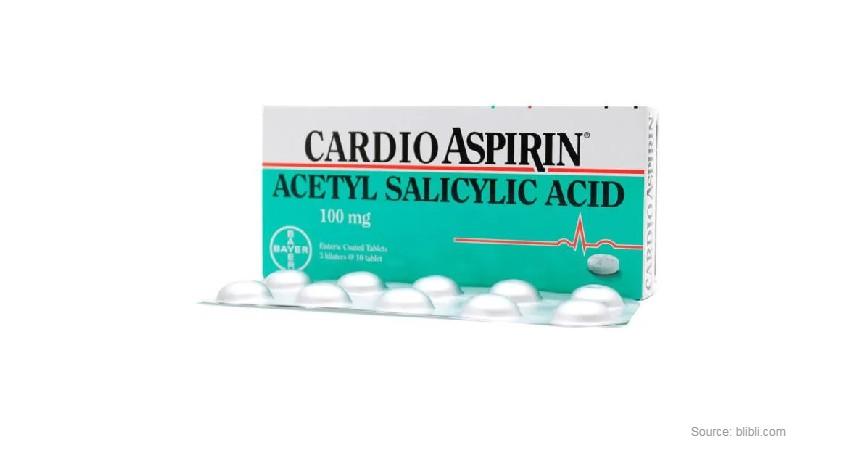 Aspirin - Rekomendasi Obat Sakit Tenggorokan