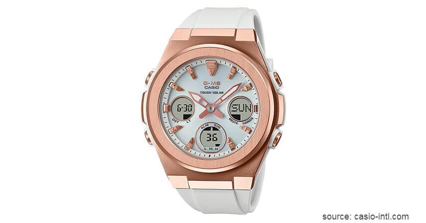 Casio Baby-G MSG-S600G-7ADR - Rekomendasi Merk Jam Tangan Wanita Dengan Berbagai Model Terbaik