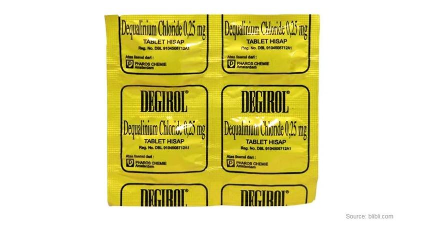 Degirol - Rekomendasi Obat Sakit Tenggorokan