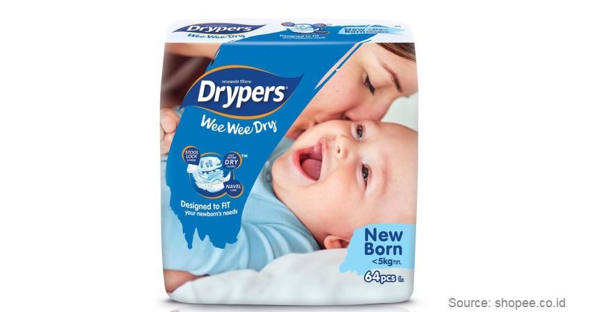 Drypers Wee Wee Dry - Merk Popok Bayi yang Bagus