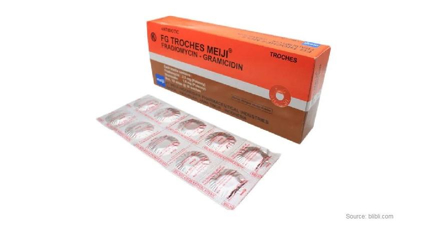 FG Troches - Rekomendasi Obat Sakit Tenggorokan