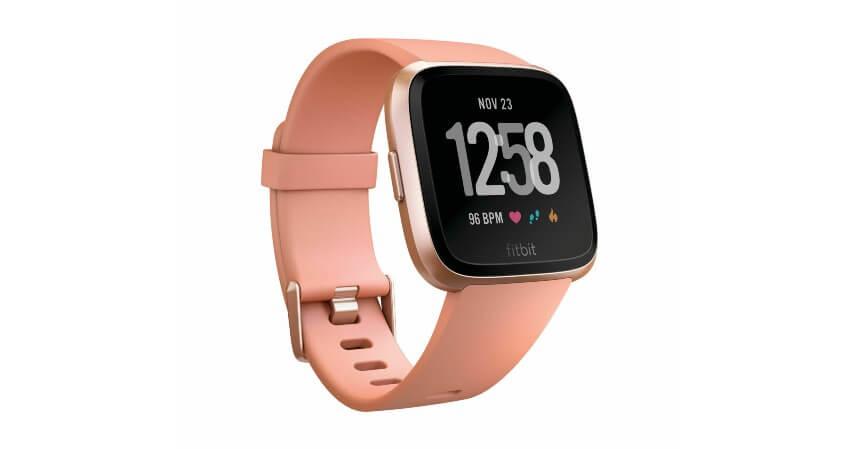 Fitbit Versa FB505 Rose Gold Peach - 11 Smartwatch Terbaik untuk Wanita