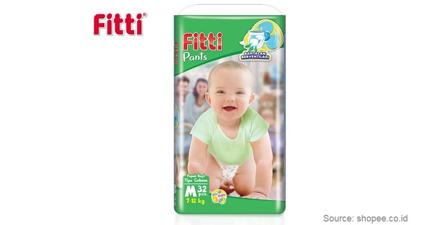 Fitti Pants - Merk Popok Bayi yang Bagus