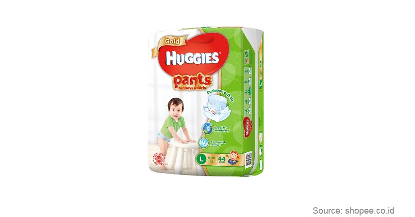 Huggies - Merk Popok Bayi yang Bagus