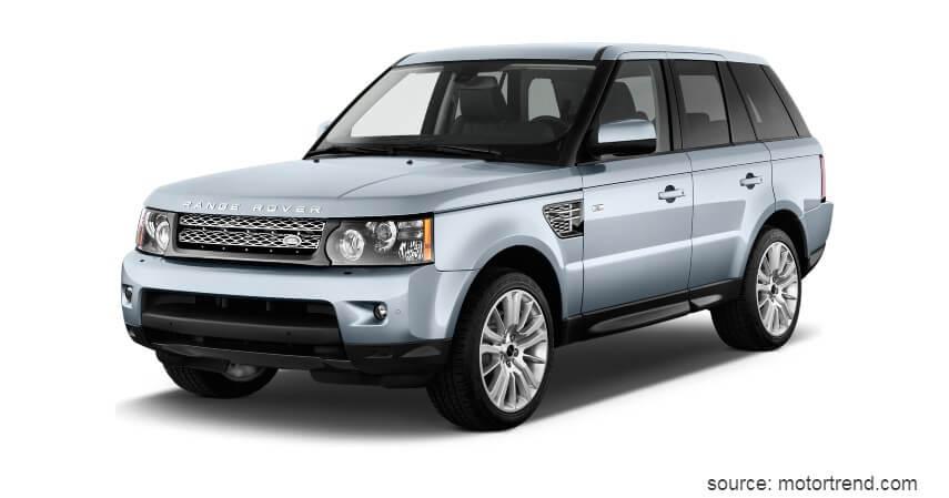 Land Rover Range Rover - 9 Koleksi Mobil Mewah Pejabat RI