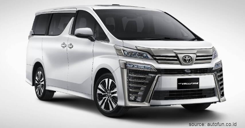 MPV Premium Toyota Vellfire - 9 Koleksi Mobil Mewah Pejabat RI