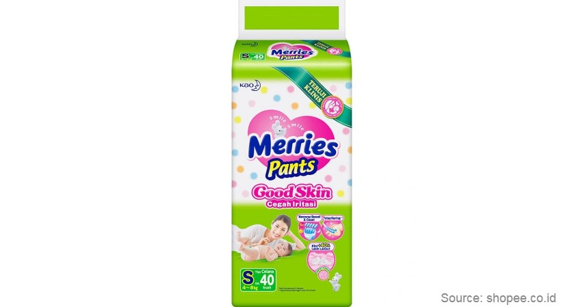 Merries Pants - Merk Popok Bayi yang Bagus