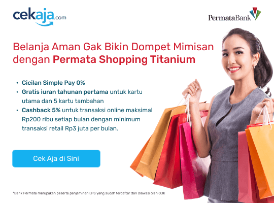 Permata Shopping Titanium Homepage