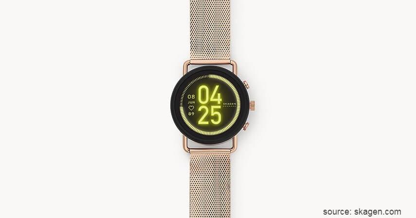SKAGEN Falster 3 - 11 Smartwatch Terbaik untuk Wanita