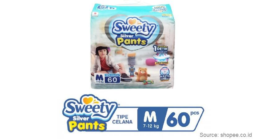 Sweety - Merk Popok Bayi yang Bagus